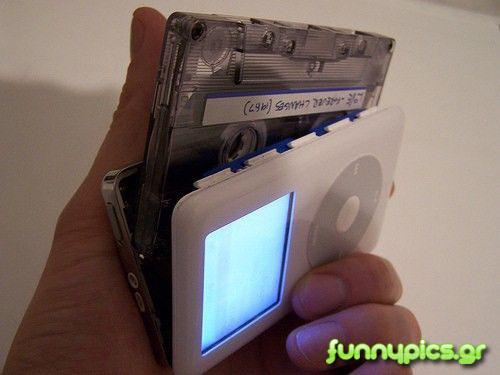 Κασετόφωνο iPod