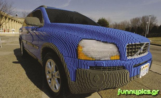 Αυτοκίνητο Με Lego