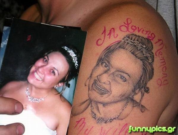 Η Σύζυγός Μου Σε Τατουάζ