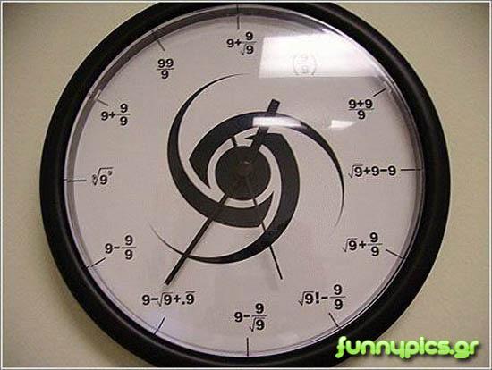 Ρολόι Για Μαθηματικούς