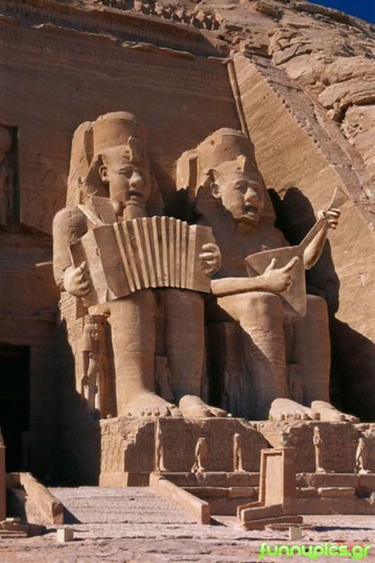 Singing Statues