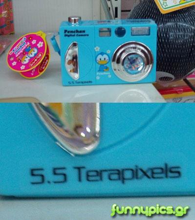5.5 Terapixels Camera