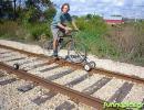 Ποδήλατο Σε Ράγες