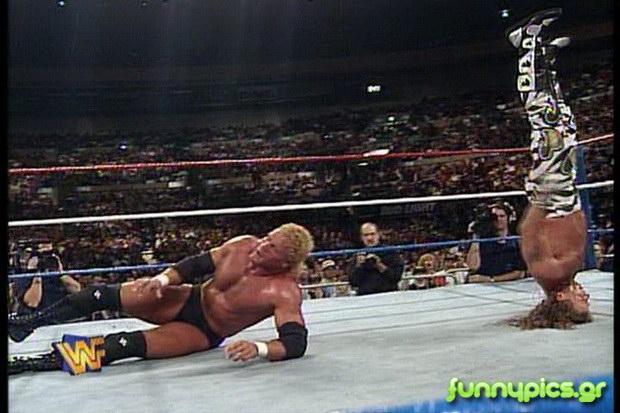 Στιγμιότυπο Από Αγώνα Wrestling
